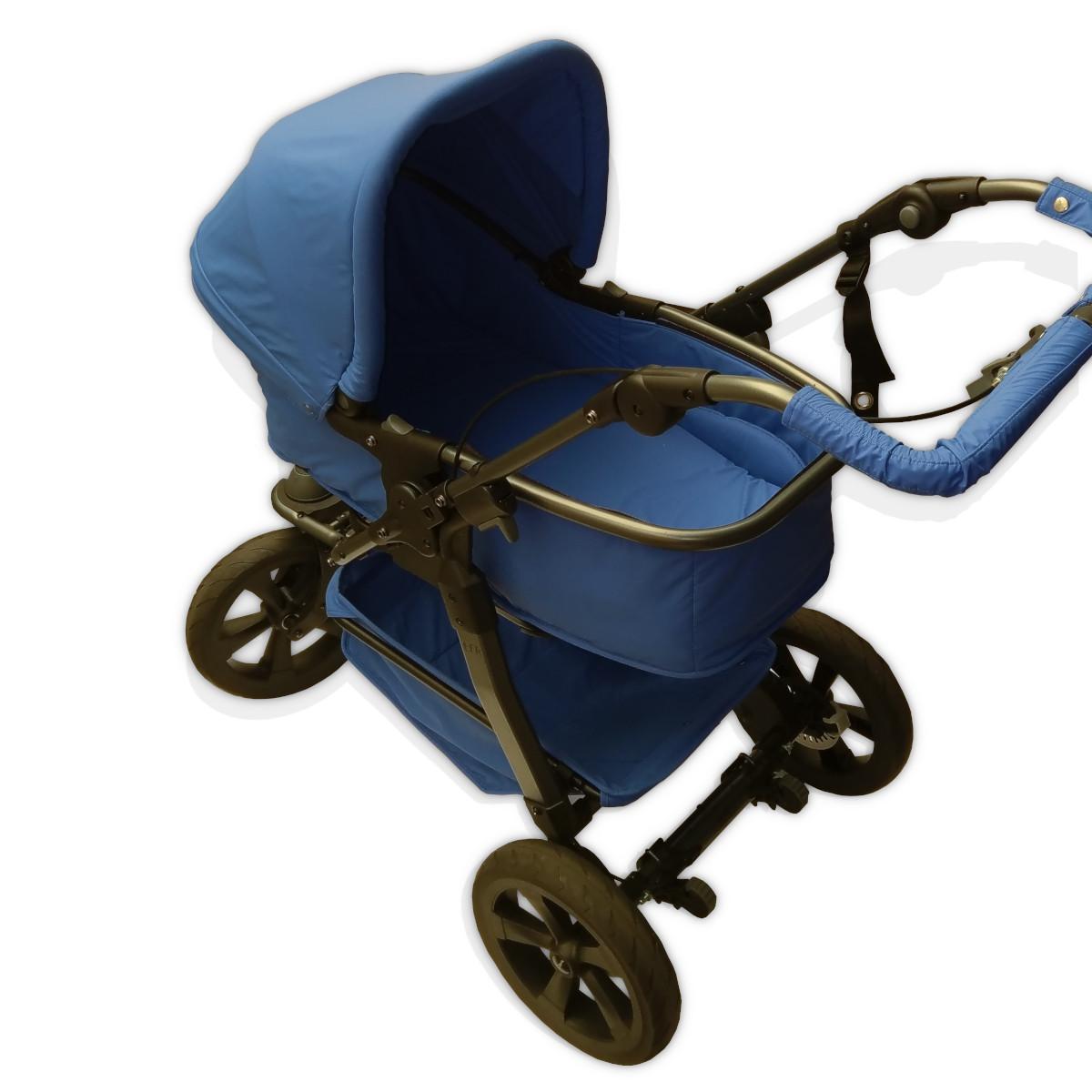 Kinderwagen X FIRST AID Profilansicht